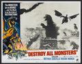 "Movie Posters:Science Fiction, Destroy All Monsters (American International, 1969). Lobby Card Setof 8 (11"" X 14""). Science Fiction.... (Total: 8 Items)"