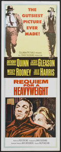 "Movie Posters:Sports, Requiem for a Heavyweight (Columbia, 1962). Insert (14"" X 36""). Sports...."