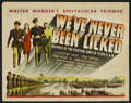 "Movie Posters:War, We've Never Been Licked (Universal, 1943). Lobby Card Set of 8 (11""X 14""). War.... (Total: 8 Items)"