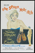 "Movie Posters:Comedy, The Seven Year Itch (20th Century Fox, 1955). One Sheet (27"" X41""). Comedy...."
