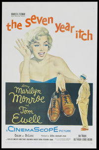 """The Seven Year Itch (20th Century Fox, 1955). One Sheet (27"""" X 41""""). Comedy"""