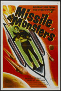 "Movie Posters:Science Fiction, Missile Monsters (Republic, 1958). One Sheet (27"" X 41"") FlatFolded. Science Fiction...."