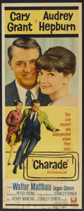 """Movie Posters:Mystery, Charade (Universal, 1963). Insert (14"""" X 36""""). Mystery...."""