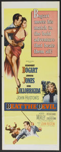 "Movie Posters:Adventure, Beat the Devil (United Artists, 1953). Insert (14"" X 36"").Adventure...."