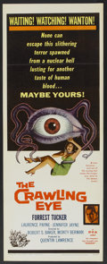"Movie Posters:Science Fiction, The Crawling Eye (DCA, 1958). Insert (14"" X 36""). ScienceFiction...."