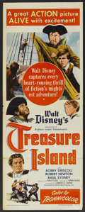 "Movie Posters:Adventure, Treasure Island (RKO, 1950). Insert (14"" X 36""). Adventure...."