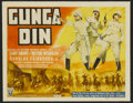 "Movie Posters:Action, Gunga Din (RKO, 1939). Title Lobby Card (11"" X 14""). Action...."