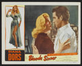 """Movie Posters:Bad Girl, Blonde Sinner Lot (Allied Artists, 1956). Lobby Cards (9) (11"""" X14""""). Bad Girl.... (Total: 9 Items)"""