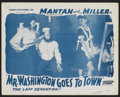 "Movie Posters:Black Films, Mr. Washington Goes to Town Lot (Dixie National, 1941). Lobby Cards(4) (11"" X 14""). Black Films.... (Total: 4 Items)"