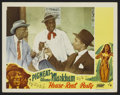 "Movie Posters:Black Films, House Rent Party Lot (Toddy Pictures, 1946). Title Lobby Cards (2)and Lobby Card (11"" X 14""). Black Films.... (Total: 3 Items)"