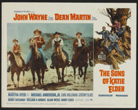 """The Sons of Katie Elder (Paramount, 1965). Lobby Card Set of 8 (11"""" X 14""""). Western.... (Total: 8 Items)"""