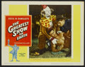 "Movie Posters:Drama, The Greatest Show On Earth (Paramount, R-1960). Lobby Card Set of 8 (11"" X 14""). Drama.... (Total: 8 Items)"