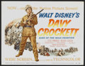 "Movie Posters:Western, Davy Crockett, King of the Wild Frontier (Buena Vista, 1955). LobbyCard Set of 8 (11"" X 14""). Western.... (Total: 8 Items)"