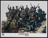"Hamburger Hill (Interaccess Films, 1987). Lobby Card Set of 8 (11"" X 14""). War.... (Total: 8 Items)"