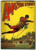 Pulps:Science Fiction, Amazing Stories V3#5 (Ziff-Davis, 1928) Condition: QualifiedVG/FN....
