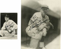Autographs:Photos, Joe Cronin and Charlie Grimm Signed Photographs Lot of 2. Excellentpair of portraits that we see here each wears a signatu...