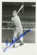 Autographs:Photos, Ted Williams Signed Photograph. Perhaps the finest lefty slugger tograce the game of baseball is shown here during his ele...