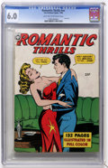 Golden Age (1938-1955):Romance, Fox Giants - Romantic Thrills #nn (Fox Features Syndicate, 1950)CGC FN 6.0 Light tan to off-white pages....
