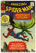 Silver Age (1956-1969):Superhero, The Amazing Spider-Man #7 (Marvel, 1963) Condition: GD....