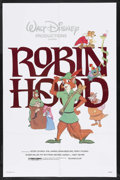 "Movie Posters:Animated, Robin Hood (Buena Vista, R-1982). One Sheet (27"" X 41""). Animated.Starring Brian Bedford, Phil Harris, Peter Ustinov, Terry..."