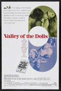 "Movie Posters:Cult Classic, Valley of the Dolls (20th Century Fox, 1967). One Sheet (27"" X41""). Cult Classic. Starring Patty Duke, Sharon Tate, Barbara..."