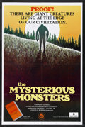 """Movie Posters:Documentary, The Mysterious Monsters (Sunn Classic, 1975). One Sheet (27"""" X 41""""). Documentary. Starring Peter Graves, Peter Hurkos and Wi..."""