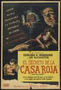 "Movie Posters:Mystery, The Red House (United Artists, 1947). Argentinean One Sheet (29"" X 43""). Mystery. Starring Edward G. Robinson, Lon McCallist..."