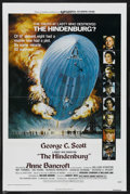 "Movie Posters:Thriller, The Hindenburg (Universal, 1975). One Sheet (27"" X 41""). Thriller. Starring George C. Scott, Anne Bancroft, William Atherton..."