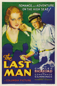 "The Last Man (Columbia, 1932). One Sheet (27"" X 41"") Style B"