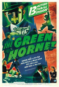 "Movie Posters:Serial, The Green Hornet (Universal, 1939). One Sheet (27"" X 41"")Advance...."