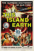 "Movie Posters:Science Fiction, This Island Earth (Universal, 1955). One Sheet (27"" X 41""). ..."