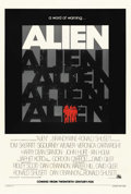 "Movie Posters:Science Fiction, Alien (20th Century Fox, 1979). One Sheet (27"" X 41"") Advance. ..."