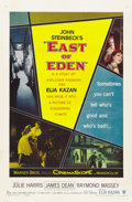 "Movie Posters:Drama, East of Eden (Warner Brothers, 1955). One Sheet (27"" X 41""). Drama...."