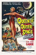 "Movie Posters:Science Fiction, Queen of Outer Space (Allied Artists, 1958). One Sheet (27"" X 41"")...."