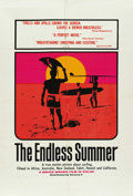 "Movie Posters:Sports, The Endless Summer (Cinema V, 1966). One Sheet (27"" X 41"") and (11) Stills (8"" X 10"").... (Total: 12 Items)"