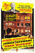 """Movie Posters:Hitchcock, Rear Window (Paramount, R-1962). One Sheet (27"""" X 41""""). ..."""