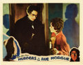 "Movie Posters:Horror, Murders in the Rue Morgue (Universal, 1932). Lobby Card (11"" X14""). ..."