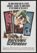 "Movie Posters:Action, Hercules and the Pirates (American International, 1964). One Sheet (27"" X 41""). Action. Starring Alan Steele, Rosalba Neri, ..."
