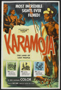 """Movie Posters:Documentary, Karamoja (Kroger Babb Attractions, 1954). Poster (40"""" X 60""""). Documentary. Directed by Matt Freed and T. Frank Woods...."""