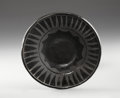 American Indian Art:Pottery, A SAN ILDEFONSO BLACKWARE PLATE. c. 1950...