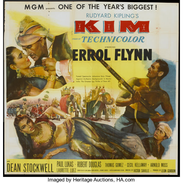 Image result for kim movie poster 1951