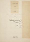 Books:Signed Editions, J. Frank Dobie. Minority Report of the Advisory Board of TexasHistorians to the Commission of Control for Texas Centenn...
