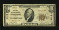 National Bank Notes:Maryland, Baltimore, MD - $10 1929 Ty. 1 The First NB Ch. # 1413. ...