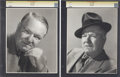 Movie/TV Memorabilia:Photos, W. C. Fields Vintage Photos.... (Total: 2 Items)