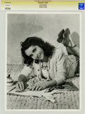 Movie/TV Memorabilia:Photos, Elizabeth Taylor Photo Portrait by Clarence Bull....
