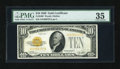 Small Size:Gold Certificates, Fr. 2400 $10 1928 Gold Certificate. PMG Choice Very Fine 35.. ...