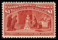 Stamps, #241, 1893, $1 Salmon, XF 90 PSE. (Original Gum - Never Hinged).... (Total: 1 Slab)