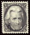 Stamps, #103, 1875 Re-Issue, 2c Black XF-S 95 PSE. (Original Gum - Previously Hinged)....
