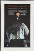 Movie/TV Memorabilia:Autographs and Signed Items, Frank Sinatra 1989 New Year's Eve Concert Poster....