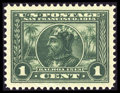 Stamps, #397, 1913, 1c Green, SUP 98 PSE. (Original Gum - Never Hinged)....